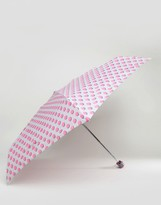 totes Polka Dot Print Umbrella