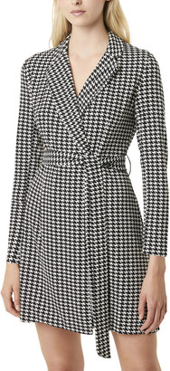 French Connection Sadira Houndstooth Dress
