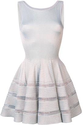Lurex Knit Flared Dress