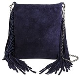 Women's Genuine Suede Fringe Crossbody Bags - Mossimo Supply Co.