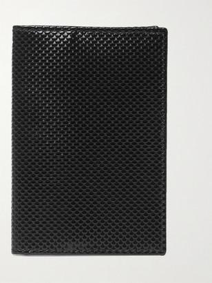 Williamson Snake-Effect Leather Cardholder