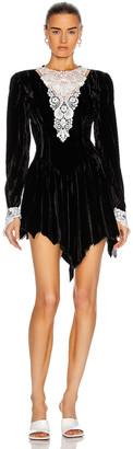 SAMI MIRO VINTAGE 80's Mini Dress in Black | FWRD