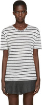 Etoile Isabel Marant Off-white Striped Andreia T-shirt