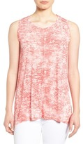 Vince Camuto 'Rippling Tide' Print High/Low Top
