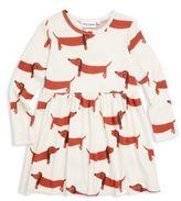 Mini Rodini Baby's, Toddler's, Little Girl's & Girl's Dog Cotton Dress