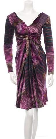 Alberta Ferretti Silk Dress w/ Tags