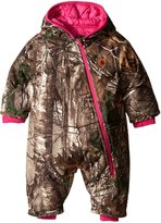 Carhartt Baby Girls' Camo Snowsuit QULT Taff Lined