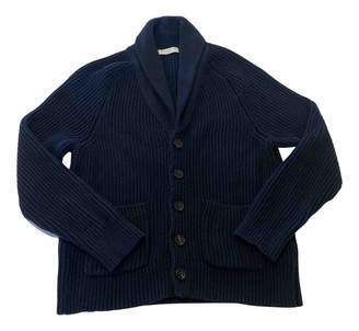 Sandro Fall Winter 2019 Blue Cotton Knitwear & Sweatshirts