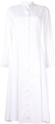 Roberts Wood midi shirt dress