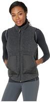 Smartwool Anchor Line Reversible Sherpa Vest (Charcoal) Women's Vest
