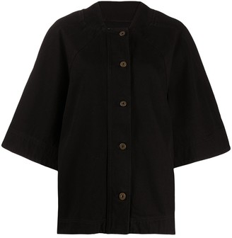 Henrik Vibskov Oversized Organic Cotton Jacket