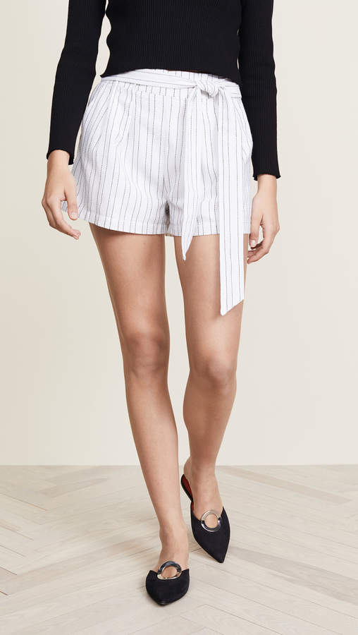 J.o.a. Tie Front Shorts