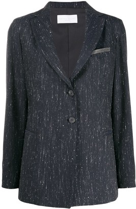 Fabiana Filippi Slim-Fit Single-Breasted Blazer