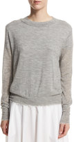 Vince Raw-Edge Cashmere Sweater