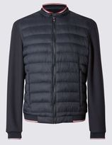 Marks and Spencer Quilted Bomber Jacket with StormwearTM