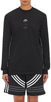adidas Originals by Alexander Wang Women's Cotton Jersey Logo Long-Sleeve T-Shirt