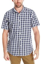 Nautica Men's Classic Fit Short Sleeve Gingham Shirt