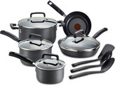 T-Fal Hard-Anodized 12-Pc. Cookware Set