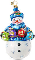 Christopher Radko A Fun & Frosty Year 2017 Ornament