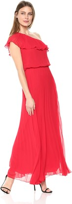Xscape Evenings Women's Long One Shoulder Dress