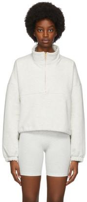 Gil Rodriguez Grey Diana Half-Zip Sweatshirt