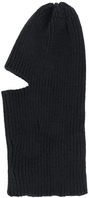 Off-White Cut-Out Knitted Balaclava