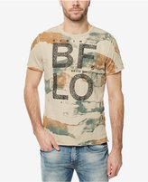 Buffalo David Bitton Men's Tie-Dyed Graphic-Print T-Shirt