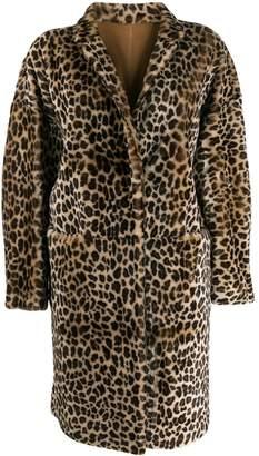 P.A.R.O.S.H. leopard print coat