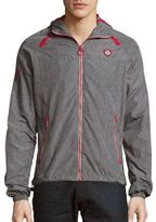 Superdry Long-Sleeve Marled Hooded Jacket