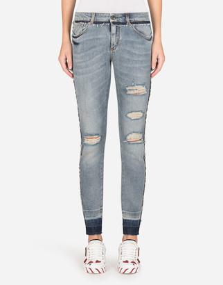 Dolce & Gabbana Skinny Stretch Denim Jeans