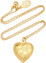 Thumbnail for your product : Ben-Amun Women's Heart Locket Gold-Plated Necklace - Gold - Moda Operandi