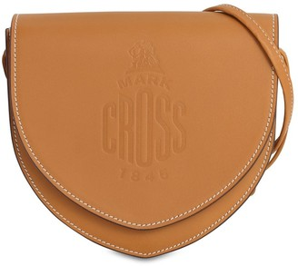 Mark Cross Dunes Leather Shoulder Bag