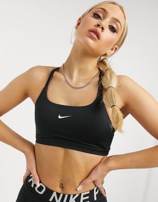 Nike Training Indy strappy bra in black