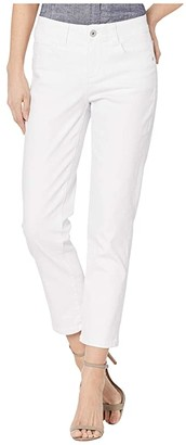 Jag Jeans Ruby Straight Denim Crop (White) Women's Jeans