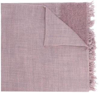 Faliero Sarti Panelled Knitted Scarf