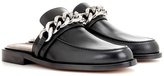 Givenchy Chain Leather Loafers