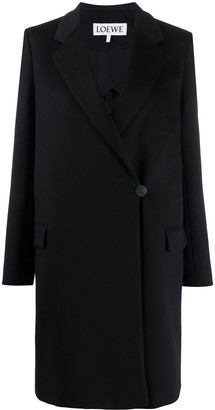 Loewe Notched-Lapel Double Breasted Coat
