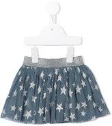 Stella McCartney star pleated skirt - kids - Cotton/Polyester/Spandex/Elastane/Metal (Other) - 12 mth