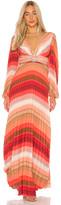 Iorane IORANE Tropical Rainbow Maxi Dress