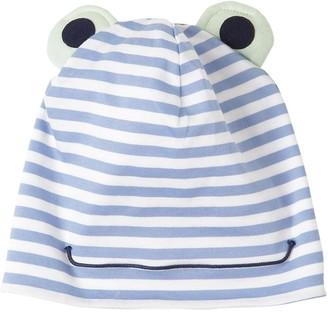 Il Gufo Striped Cotton Jersey Hat