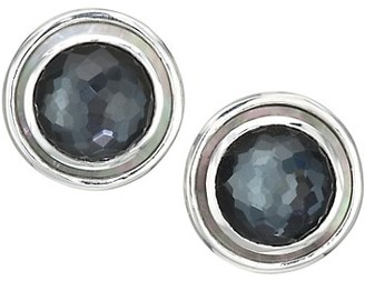 Ippolita Polished Rock Candy Sterling Silver & Multi-Stone Circle Earrings