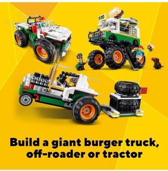 Lego 31104 Monster Burger Truck-Offroader - Tractor