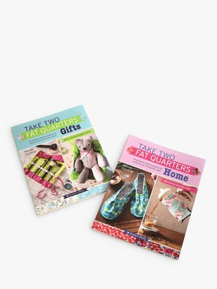 Search Press Take Two Fat Quarters and Fat Quarters Gifts Sewing Book Bundle