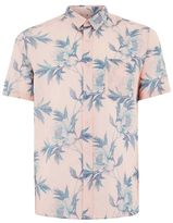 Topman Pink Floral Shirt