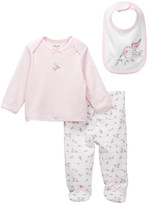 Little Me Sweet Birds Lap Shoulder Set (Baby Girls)