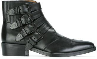 Toga Virilis Multi Buckle Boots