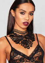 Missy Empire Annabel Black Gothic Lace Choker