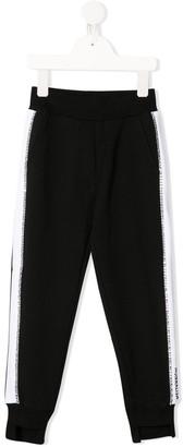 MonnaLisa Side-Stripe Track Trousers