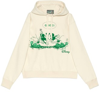 Gucci Disney x hooded sweatshirt