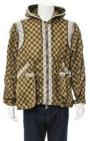 Givenchy Checkered Print Windbreaker Jacket